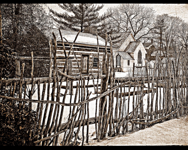 A Pen, A Farm, A Church