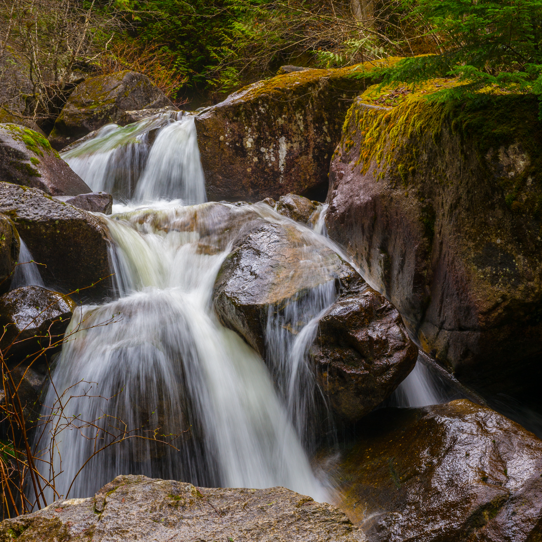 Waterfall in Stawamus Chief Trail