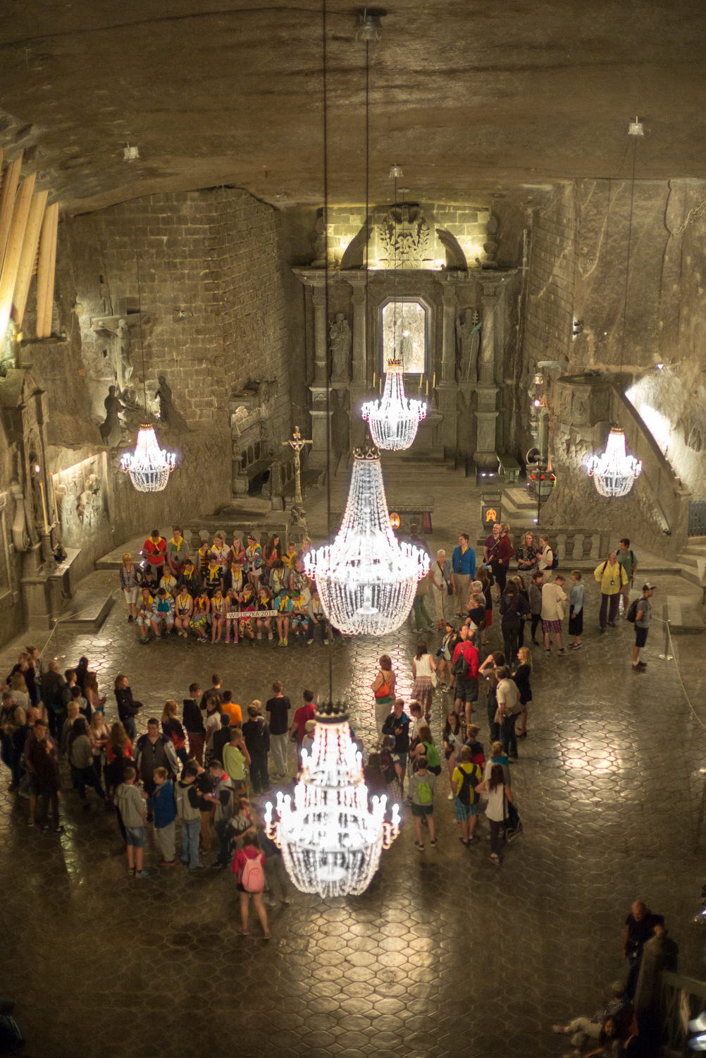 Cathedral in the Salt Mine