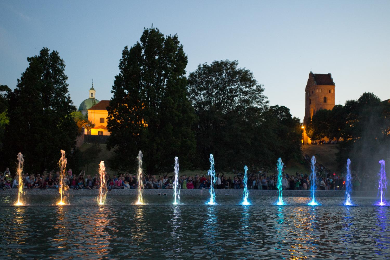 Multimedia Fountains, Warsaw