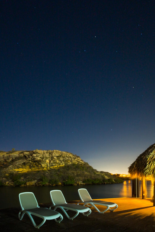 Night Sky over Jan Thiel