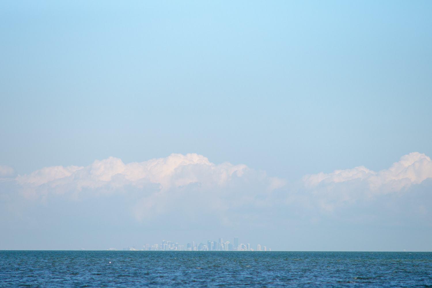 Miami from Biscayne National Park