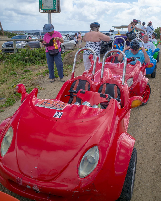 3-Wheel Vehicles Driven on St. Maartens