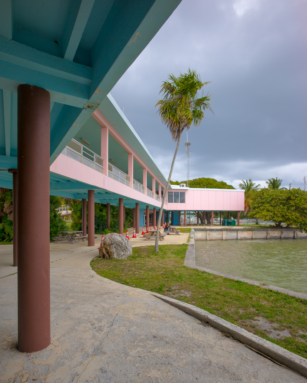 National Park Visitors Centre at Flamingo Florida