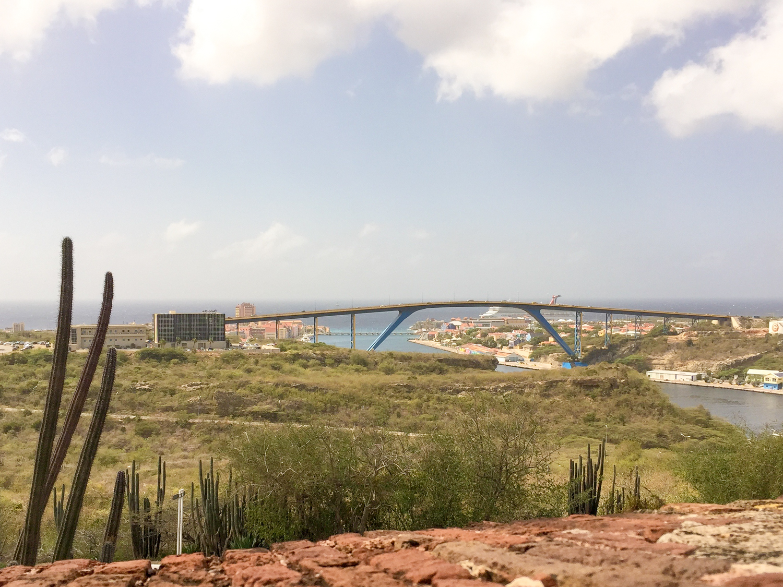 View of Otrobanda from Fort Nassau