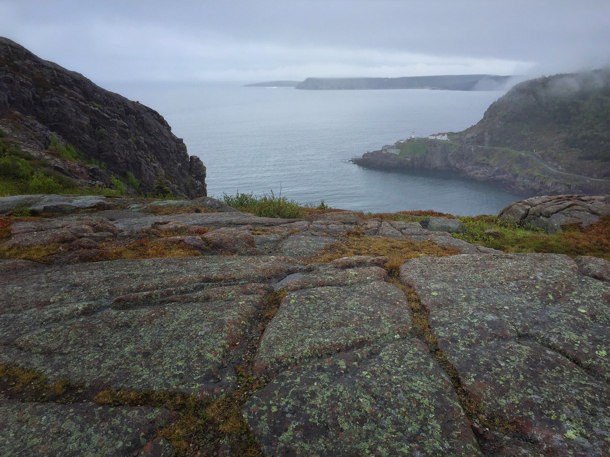 The Mouth of St. John's Harbour with Fort Amherst