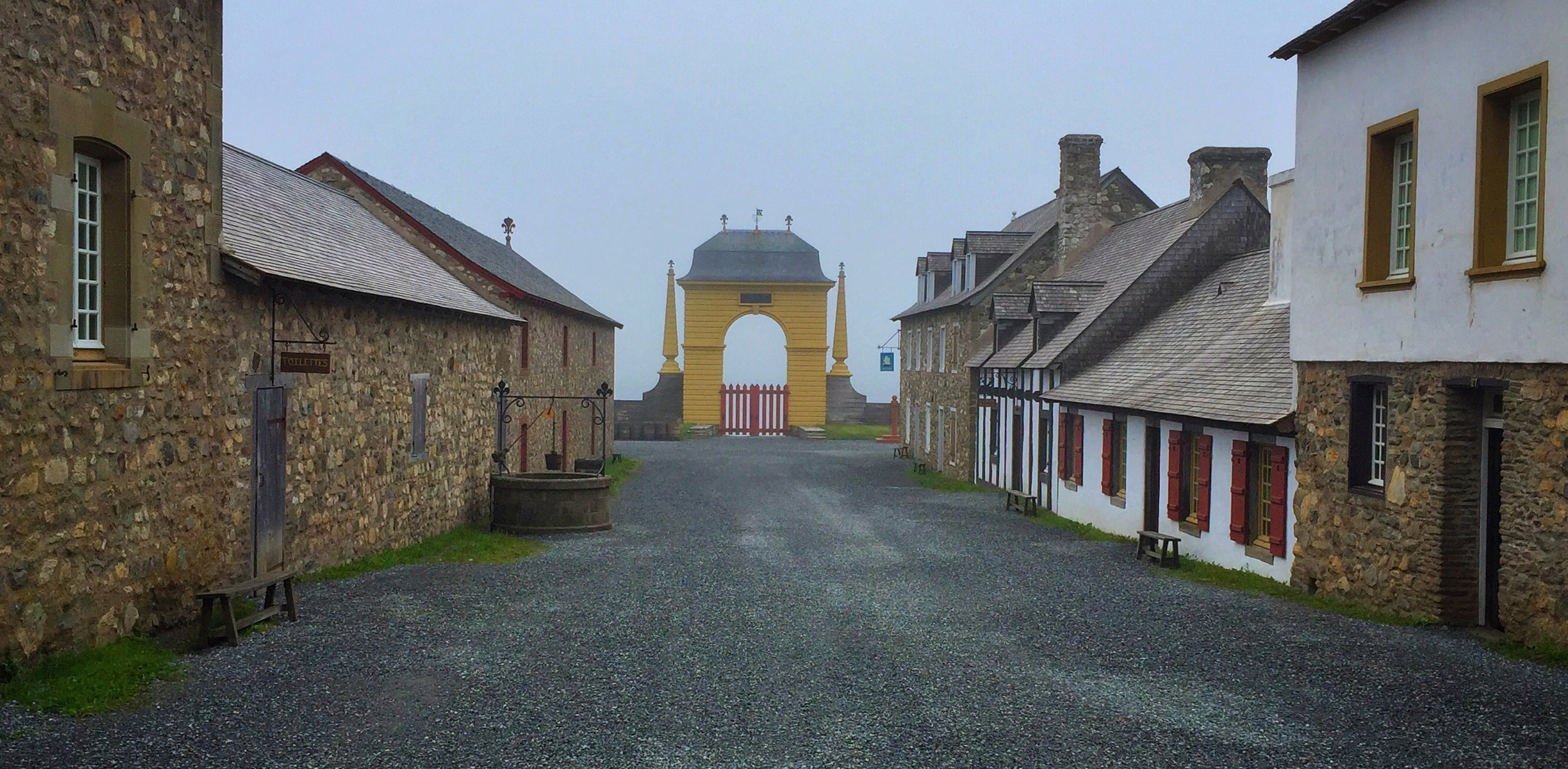 Street in Louisbourg