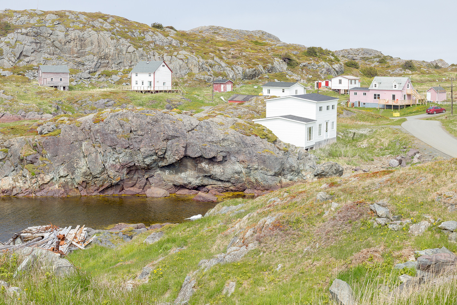 Homes, Change Islands, Newfoundland