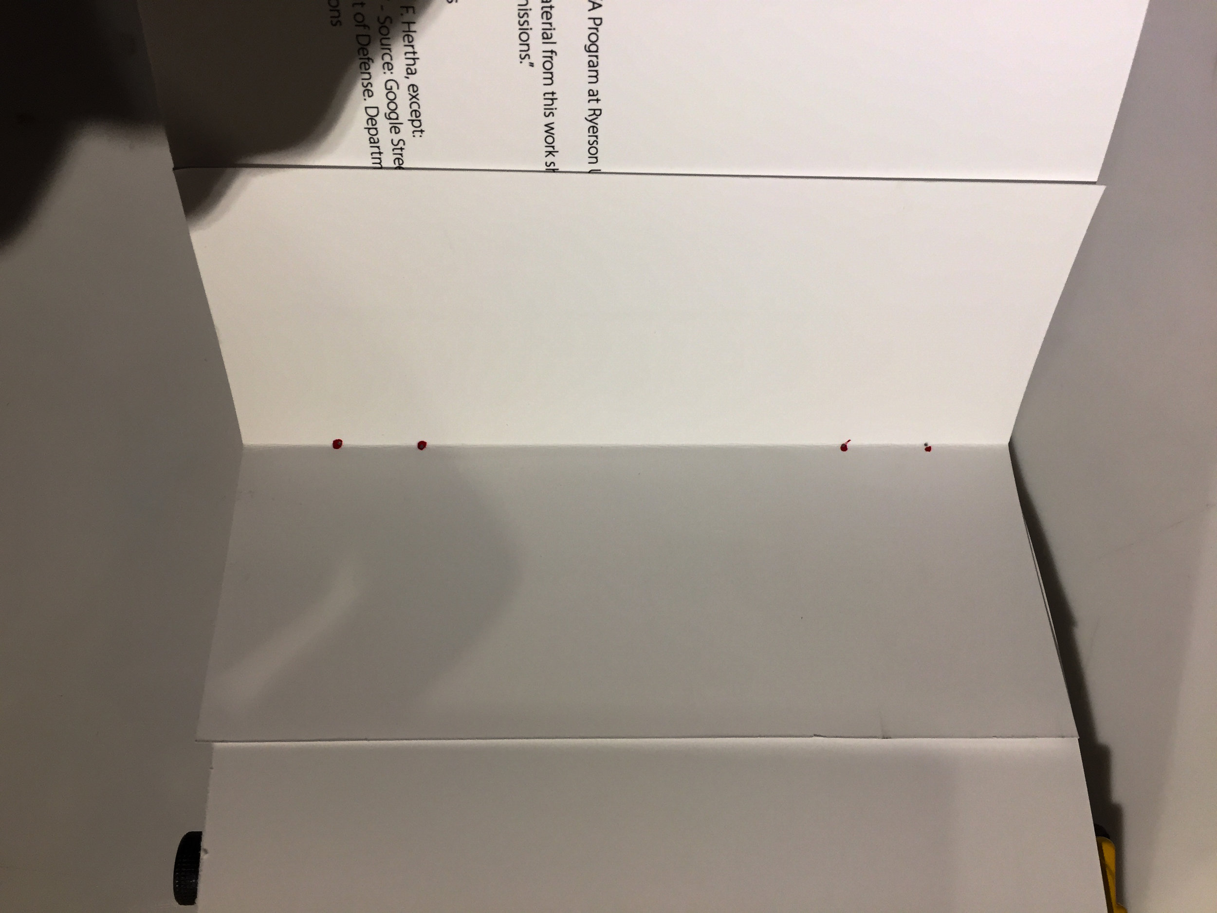 Pre-punching holes for Sewing (binding)