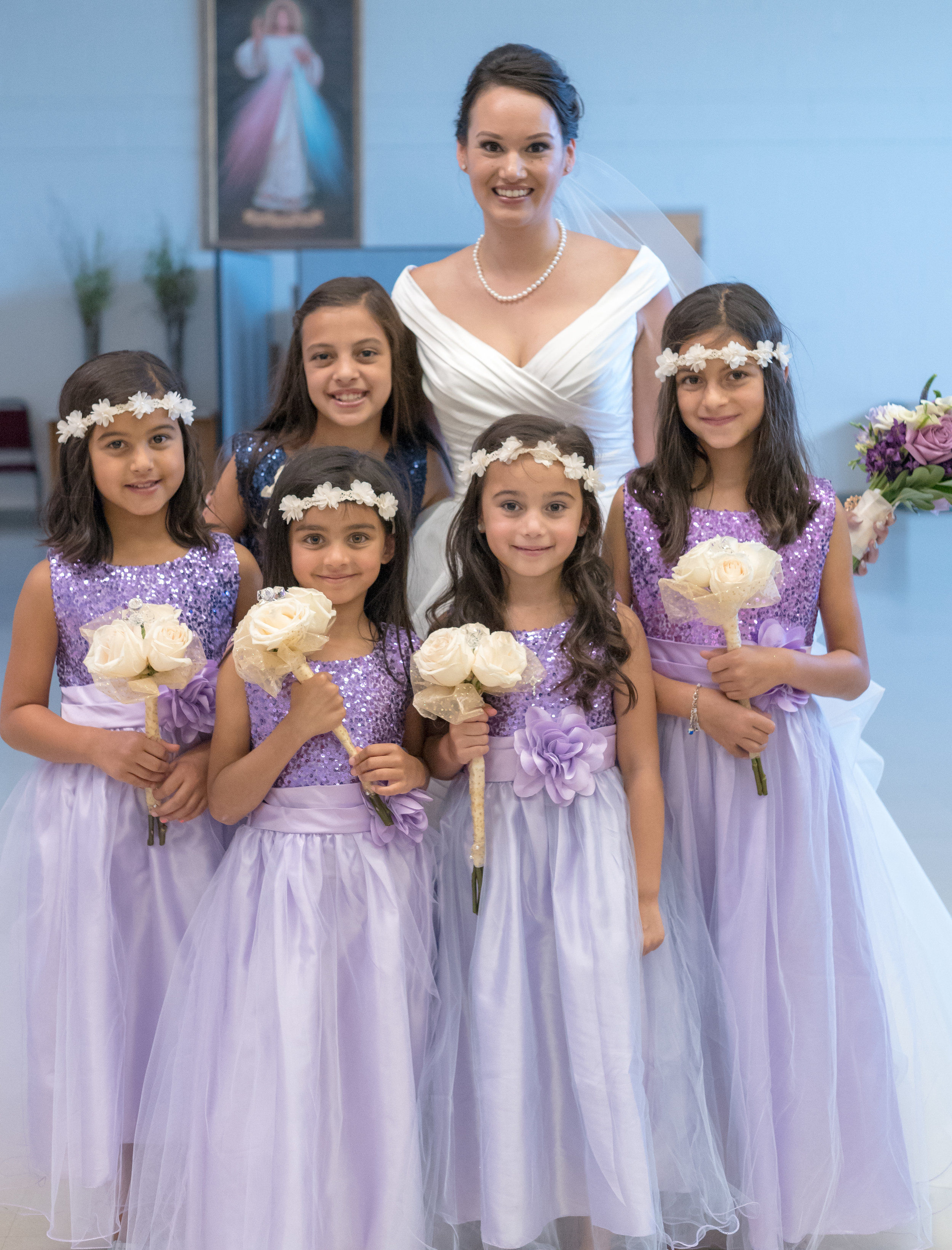 Flower Girls: like little angles