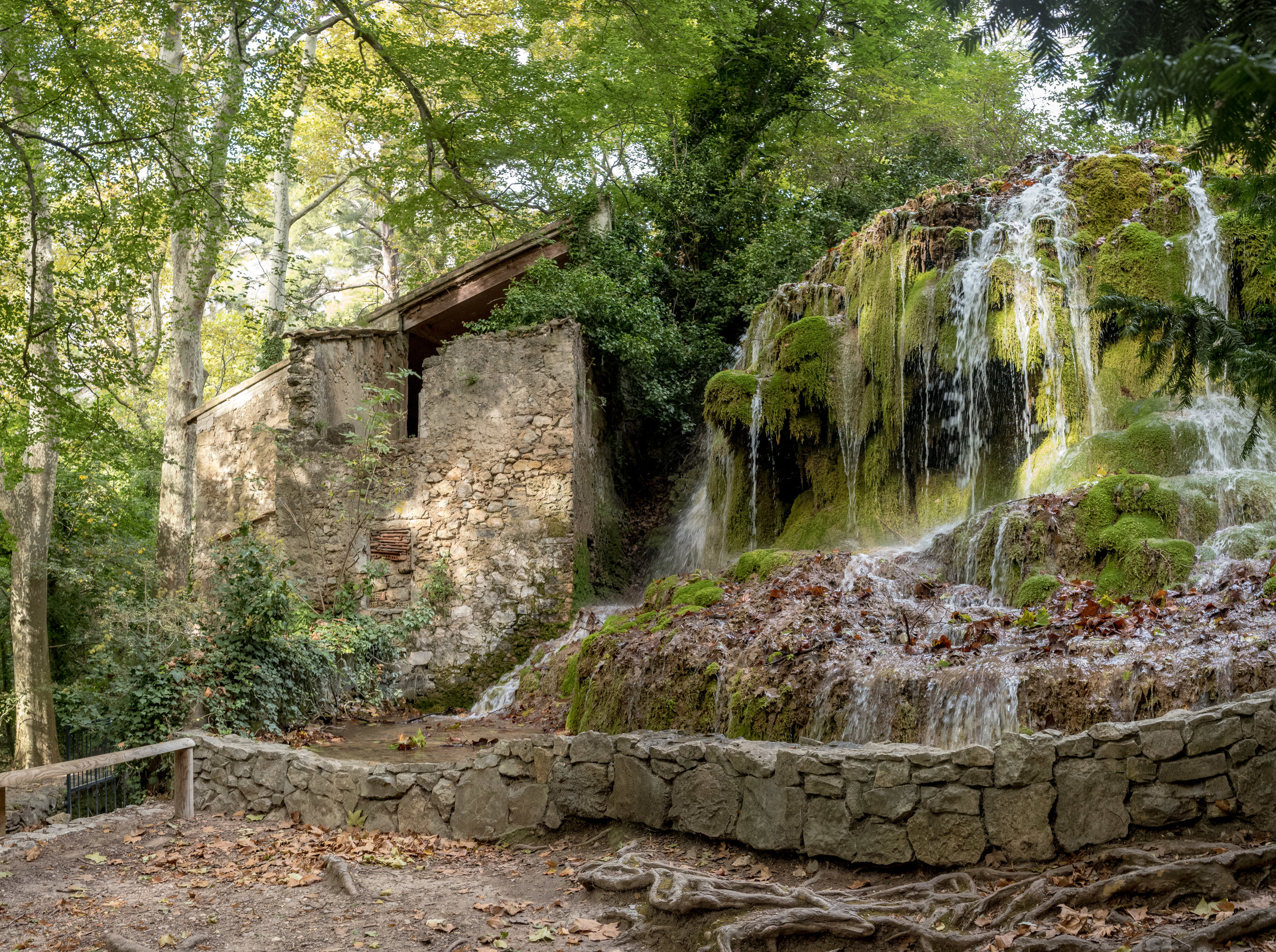 Ancient Water Mill, Parc de Saint-Pons, Gémenos, Bouches-du-Rhône, France
