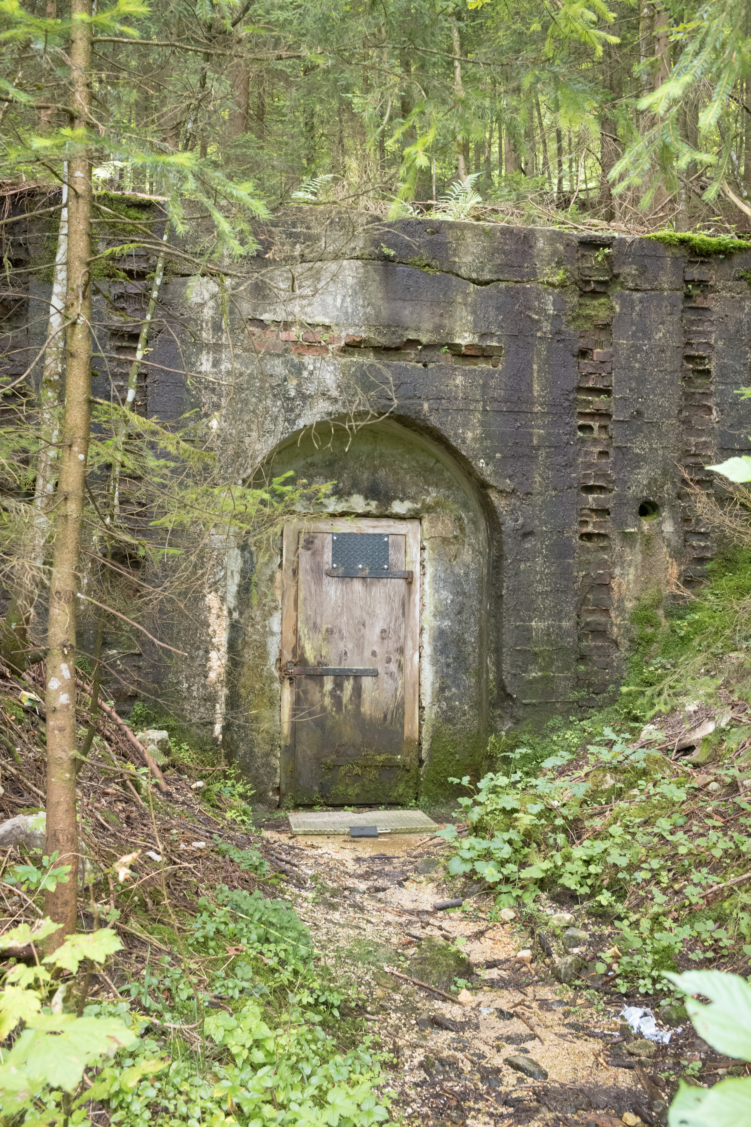 Obersalzburg: Remnant of bunker system engineered by my great uncle.