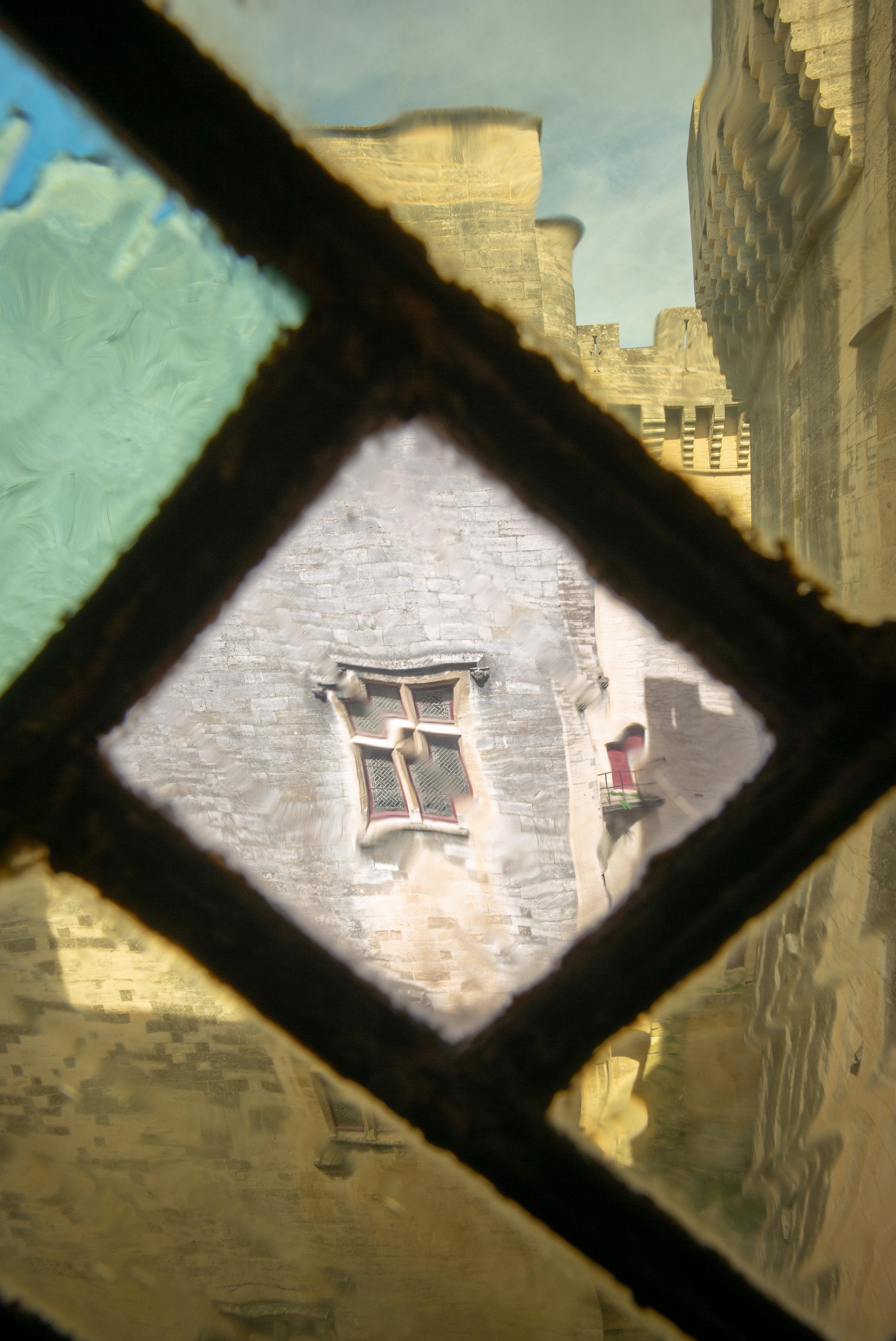 Interior Window facing the Court Yard in Château de Tarascon, Tarascon, France