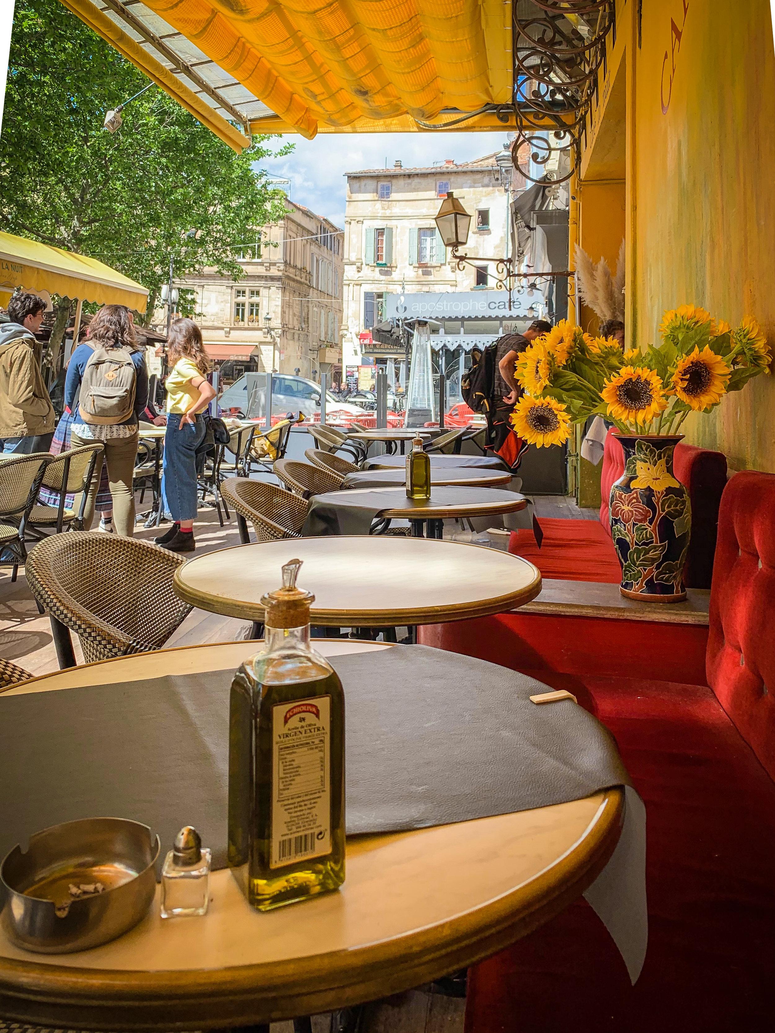 Le Café Van Gogh, Arles, France