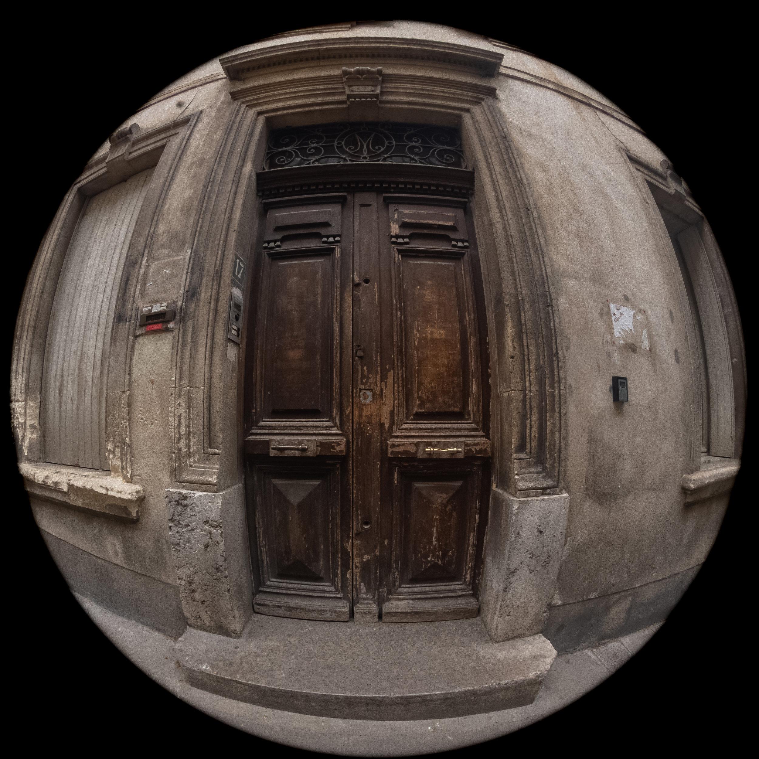Door, Arles, France