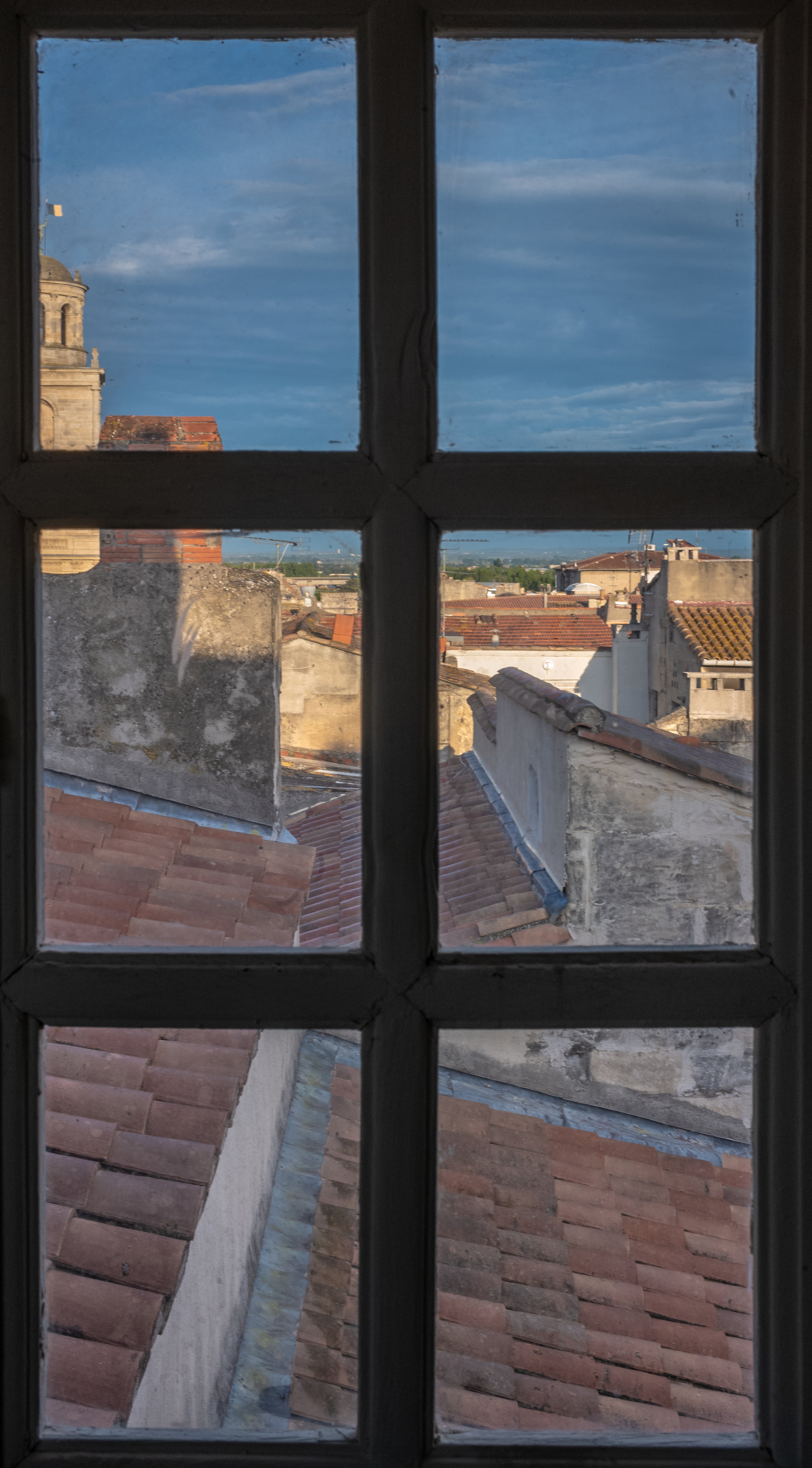 View of City from Galerie Huit, Arles, France