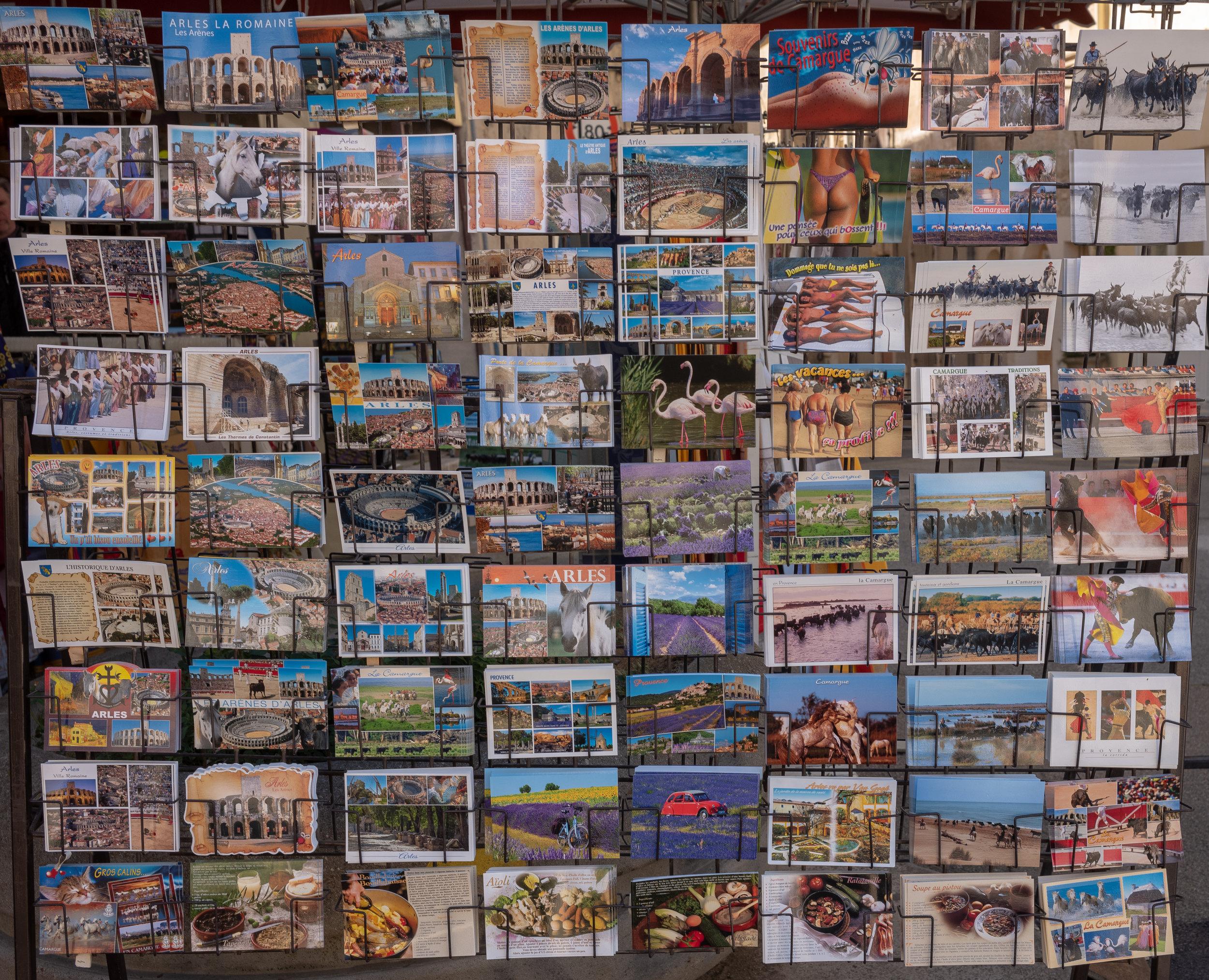 Postcards, Arles, France