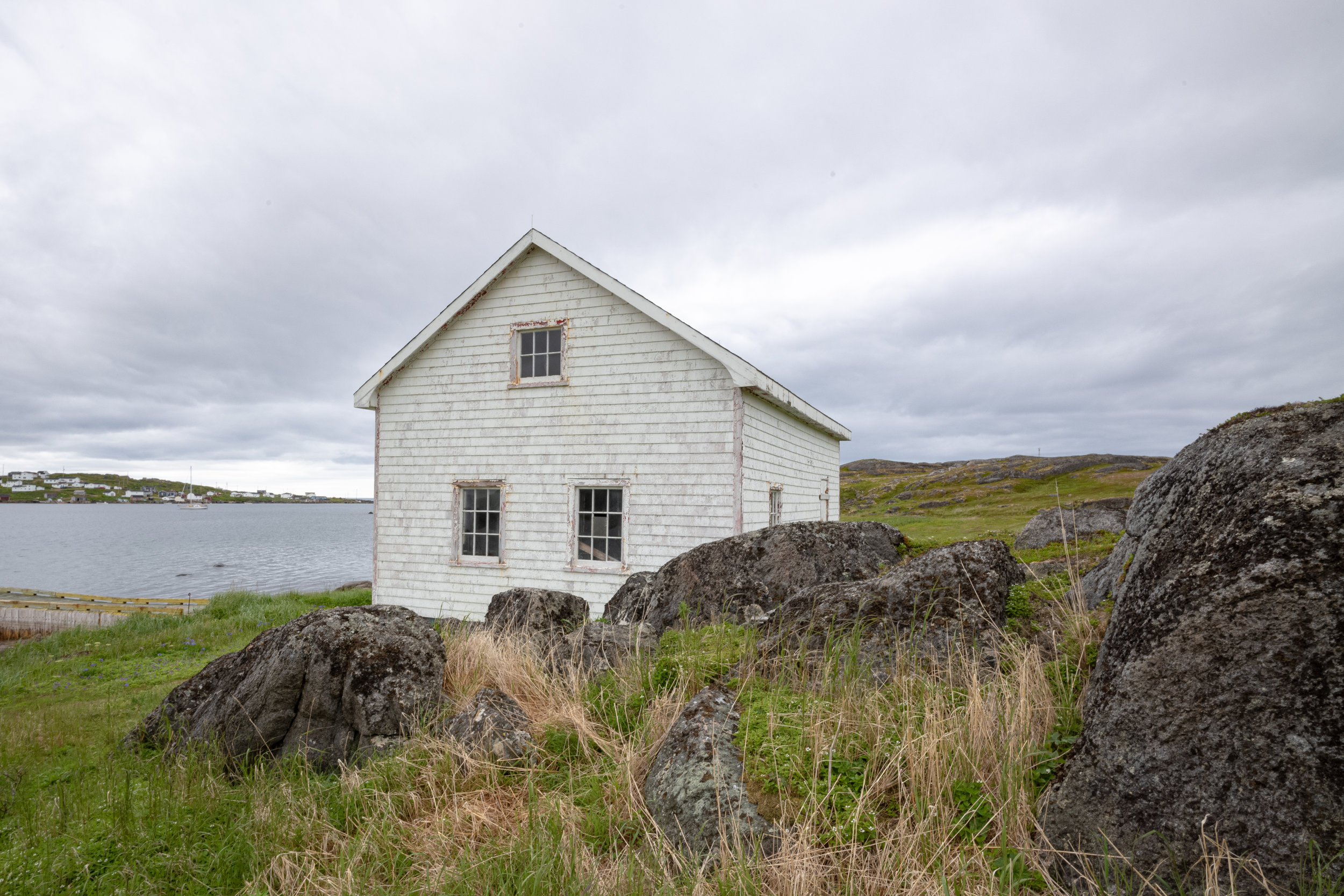 Remains of the whaling station at Red Bay, Labrador.