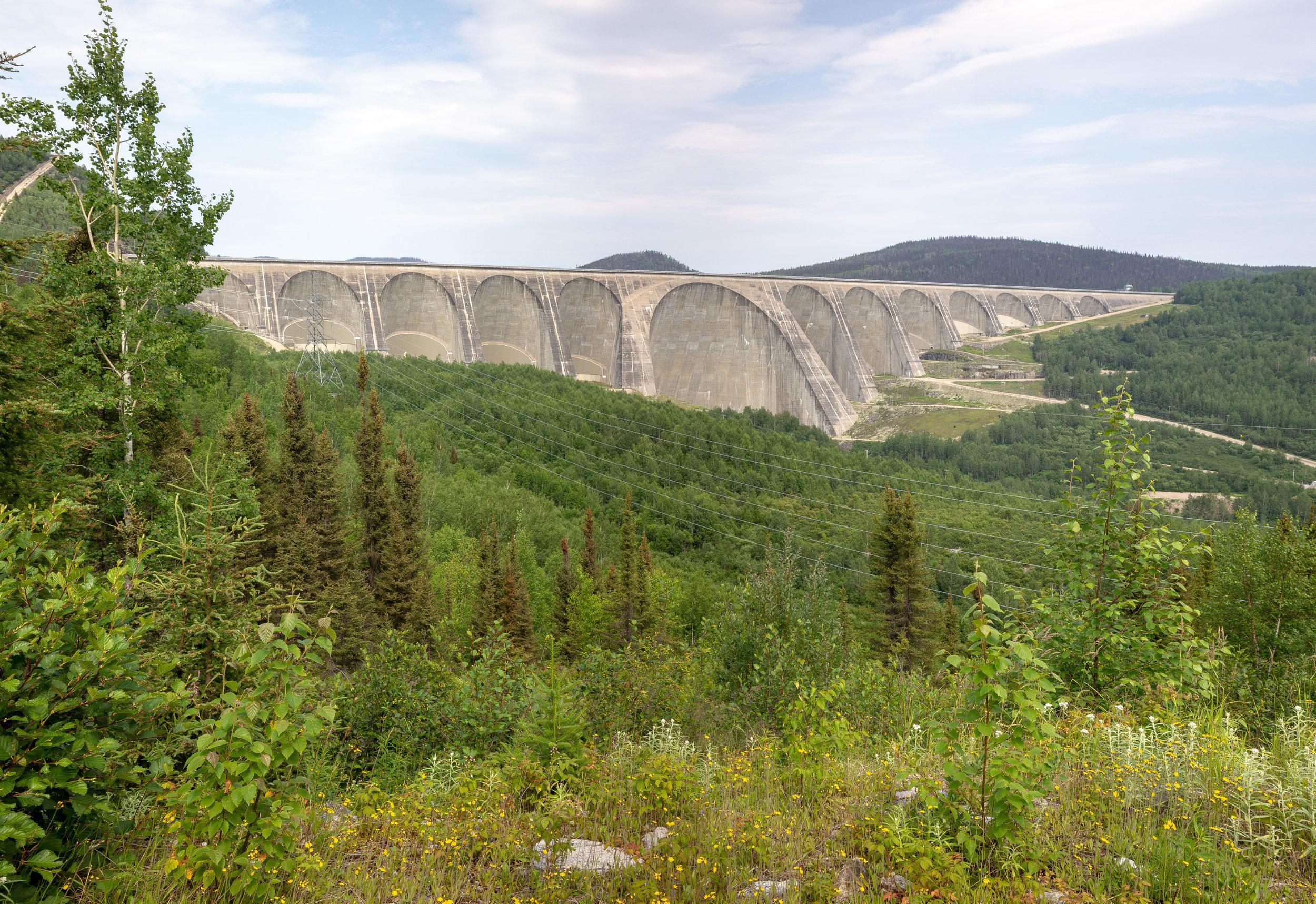 Daniel Johnson Dam, formerly Manic-5, Quebec.