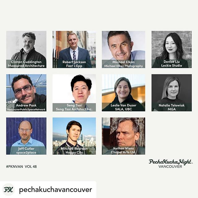 "Looking forward to the #PechaKuchaVan event this eve.  Jeff's talk is titled the ""only certainty is uncertainty"". Its about #climatechange and how it will soon impact everyone's lives.  I have focused on what it means for Vancouver.  I will post links to my sources over on the @space2place twitter account. Also after the event I will share my presentation as a series of posts. #pechakuchavancouver"