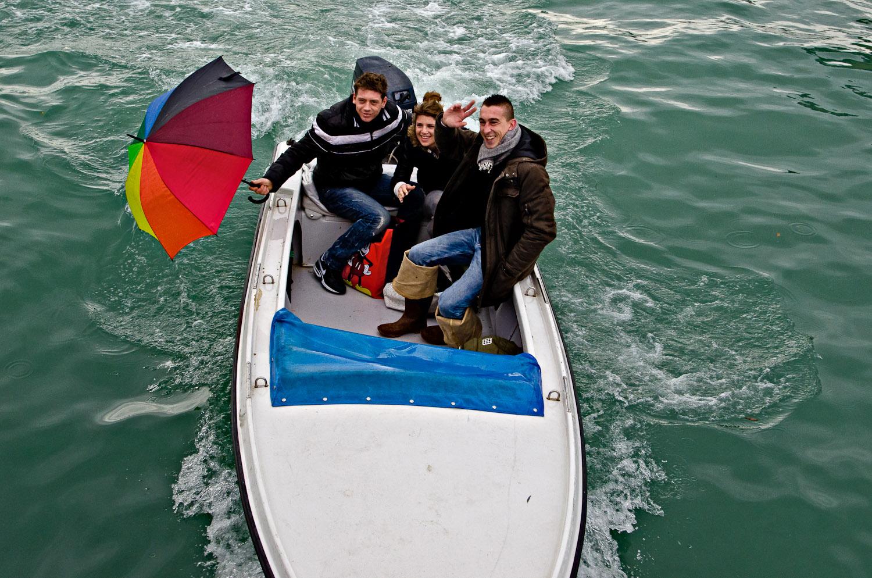 Christmas Eve Boat Ride, Venice