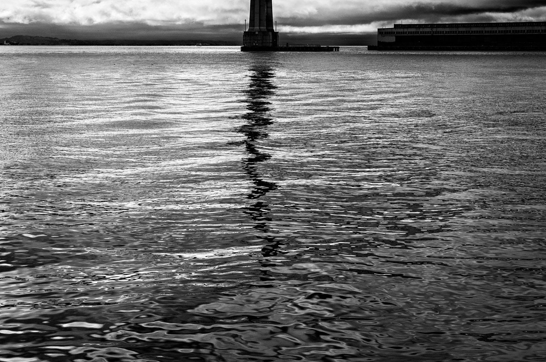 Bridge Reflection, San Francisco Bay | Mark Lindsay