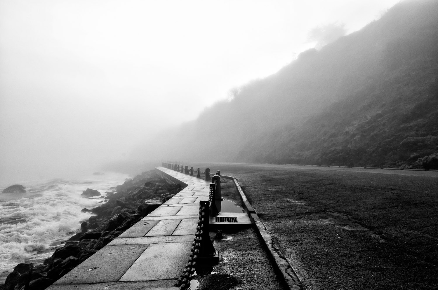 Fog at Fort Point | Mark Lindsay