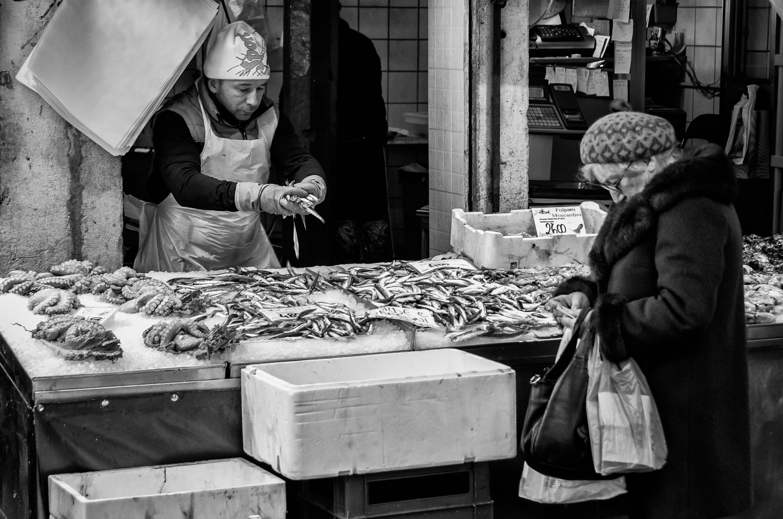 The Fishmonger | Mark Lindsay