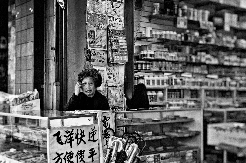 Chinatown Merchant, San Francisco | Mark Lindsay