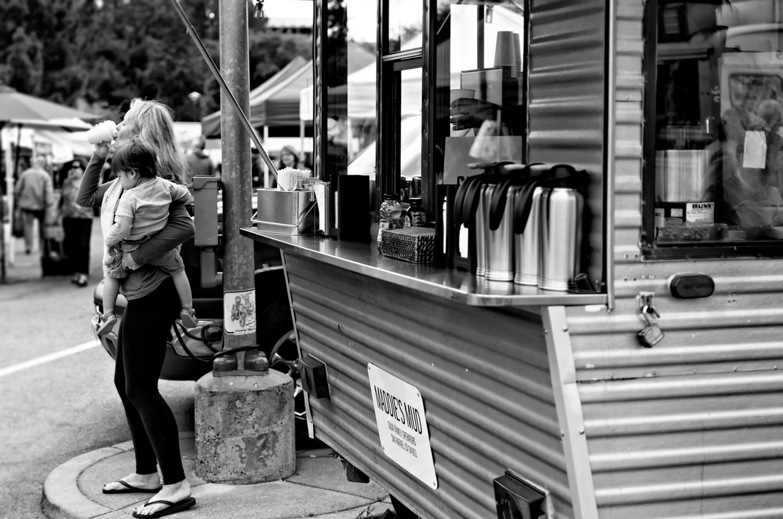 Coffee at the Market   Mark Lindsay