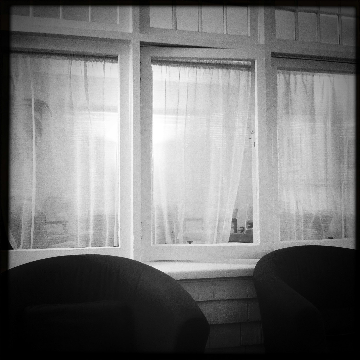 Window with Two Chairs   Mark Lindsay