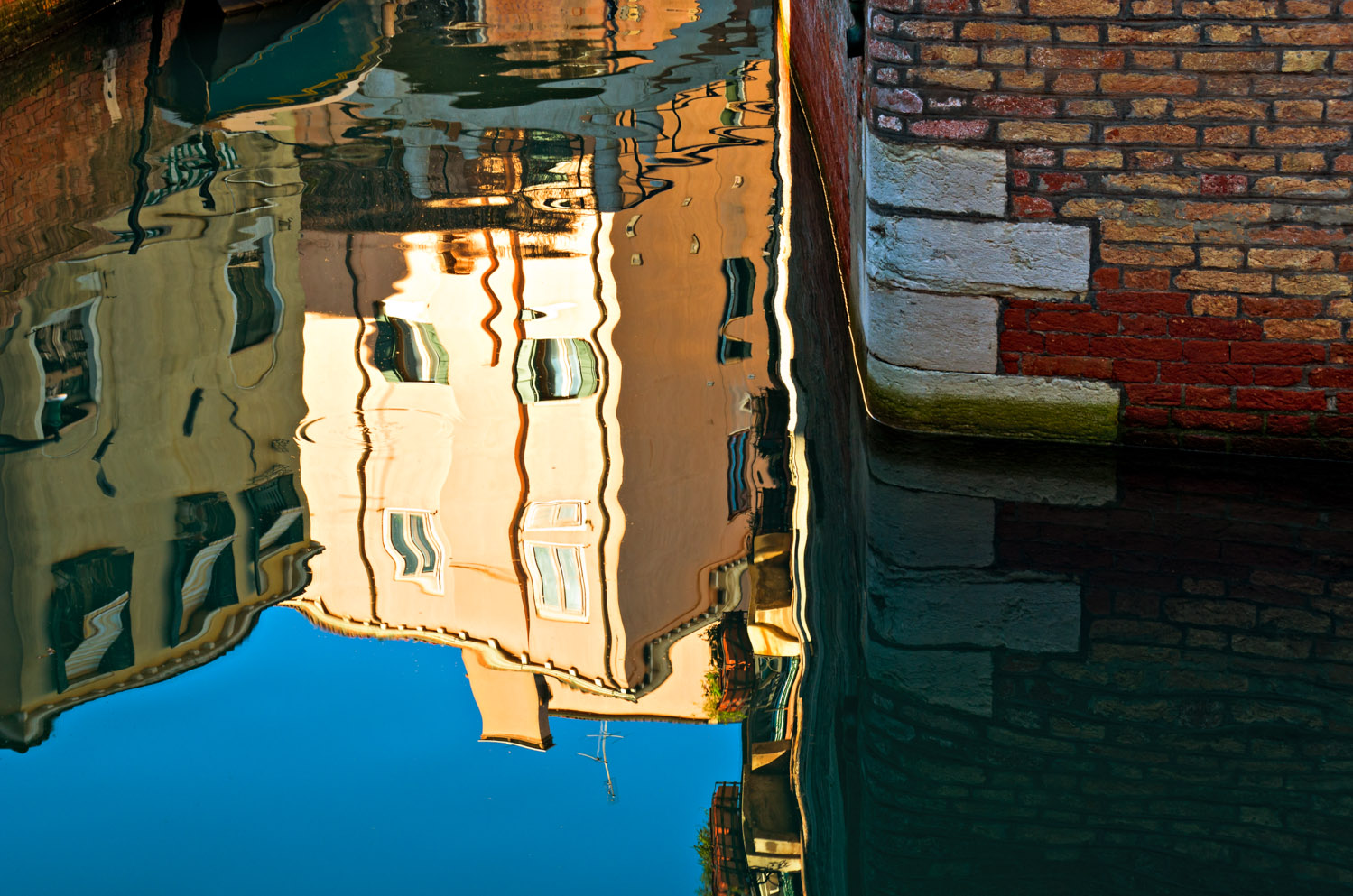 Noon Reflections, Venice