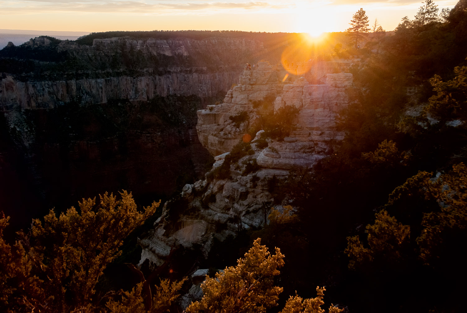 Sunset at North Rim, Grand Canyon | Mark Lindsay