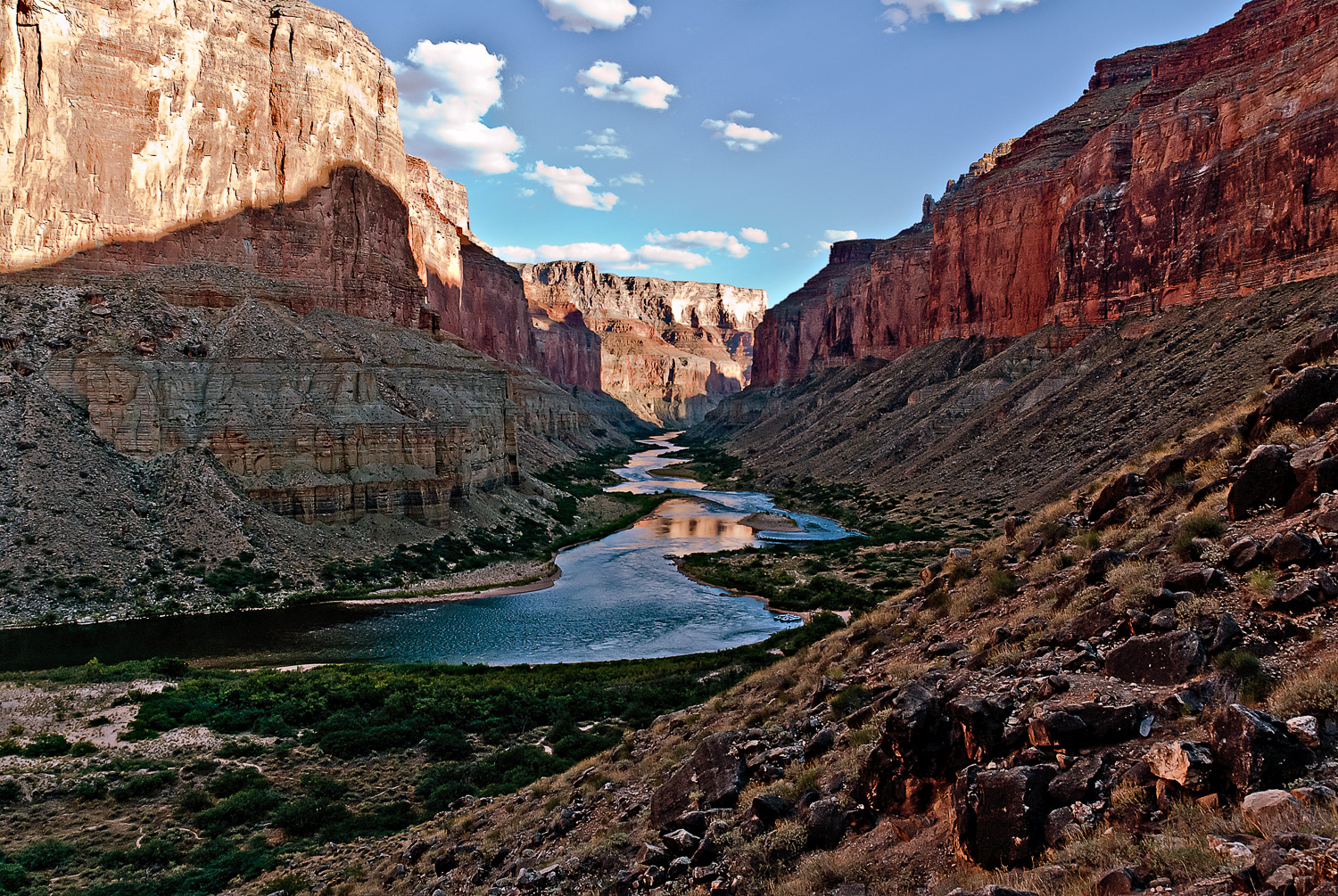 Marble Canyon from the Granaries | Mark Lindsay
