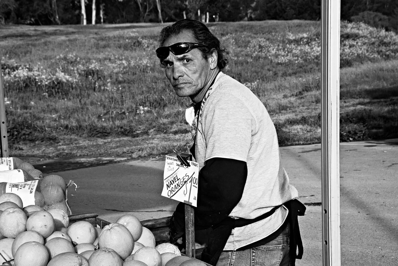 Worker, Farmer's Market | Mark Lindsay