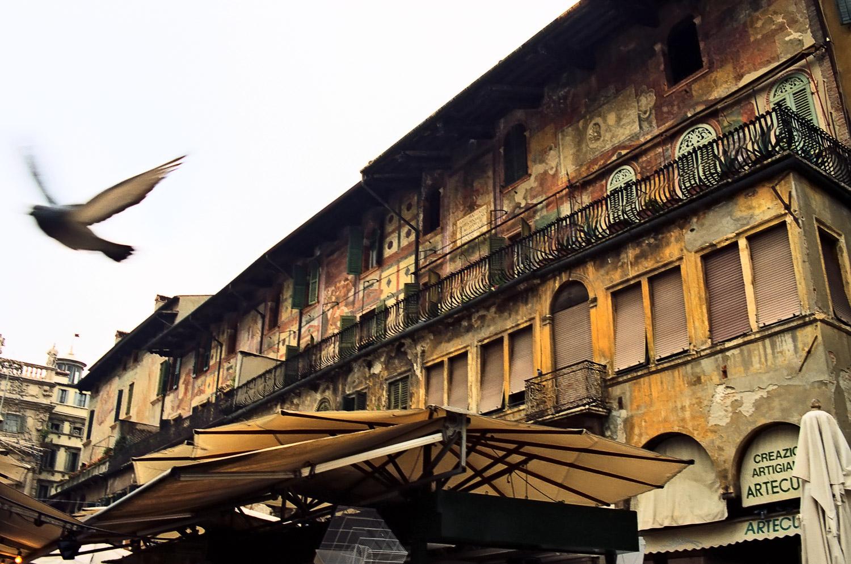 Piazza delle Erbe, Verona   Mark Lindsay