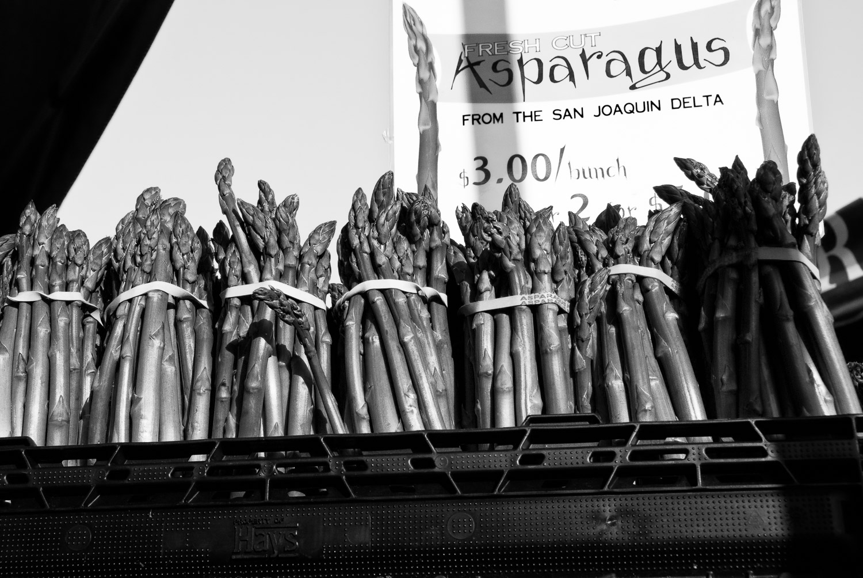 Asparagus, Marin Farmer's Market | Mark Lindsay