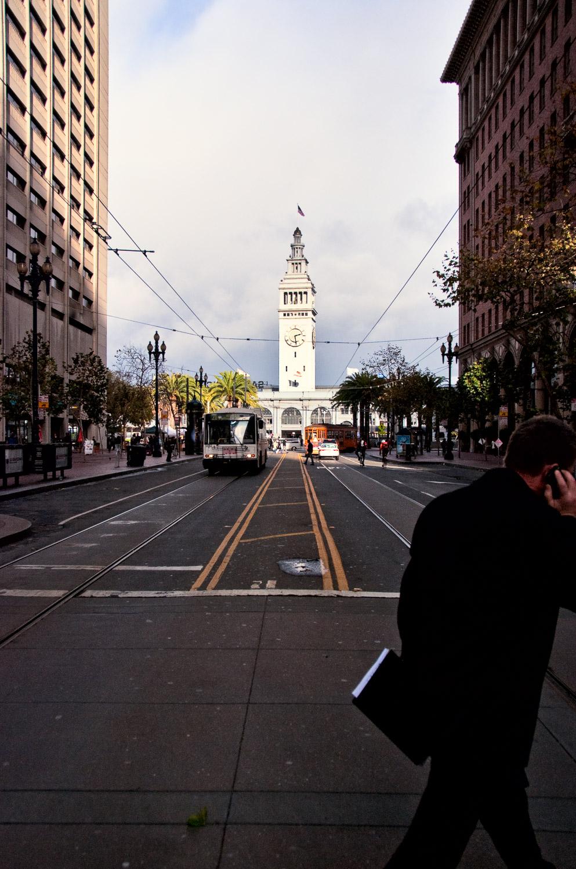 Crossing Market Street | Mark Lindsay