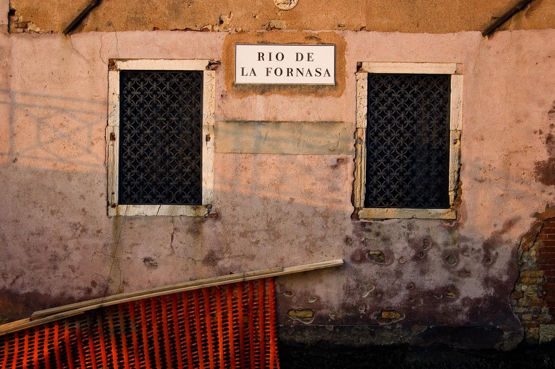 Rio de la Fornasa, Venice