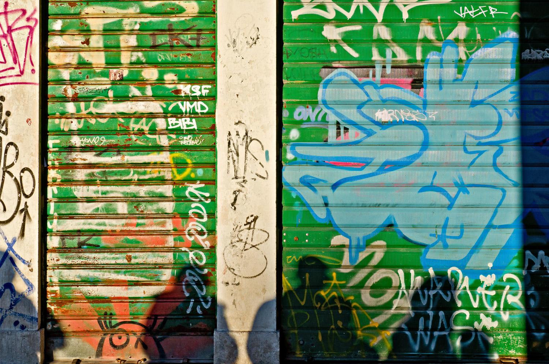 Graffiti and Shadows, Venice