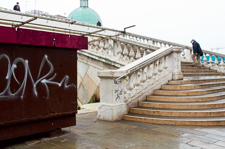 Scalzi Bridge and Graffiti