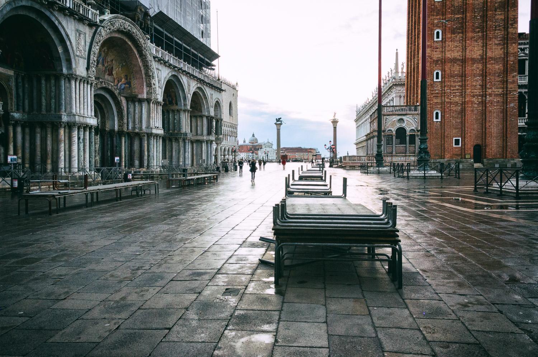 Blue Morning, Venice