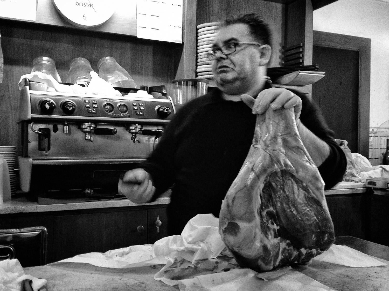 Slicing Prosciutto