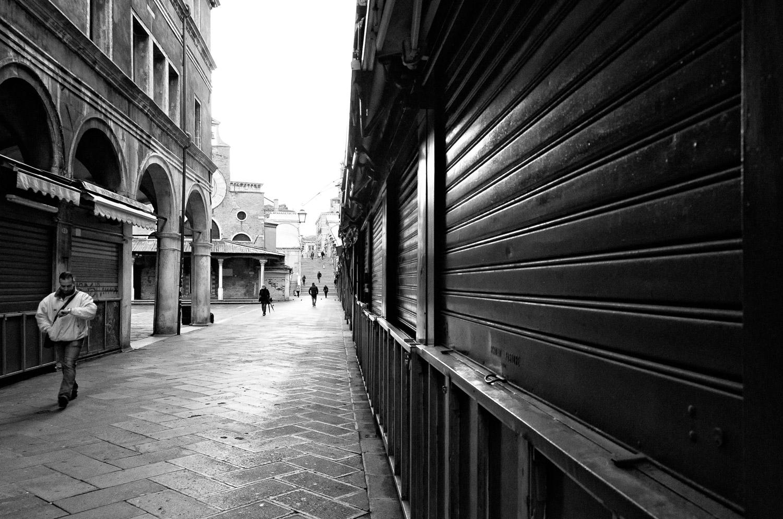 Man in Rialto Market
