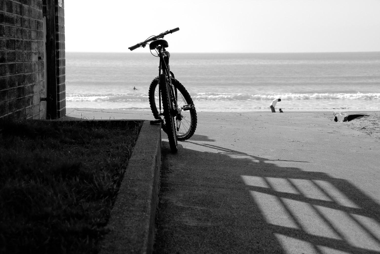 Beach and Bicycle, Stinson Beach | Mark Lindsay