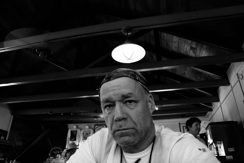 Self-Portrait, Phantom Ranch   Mark Lindsay