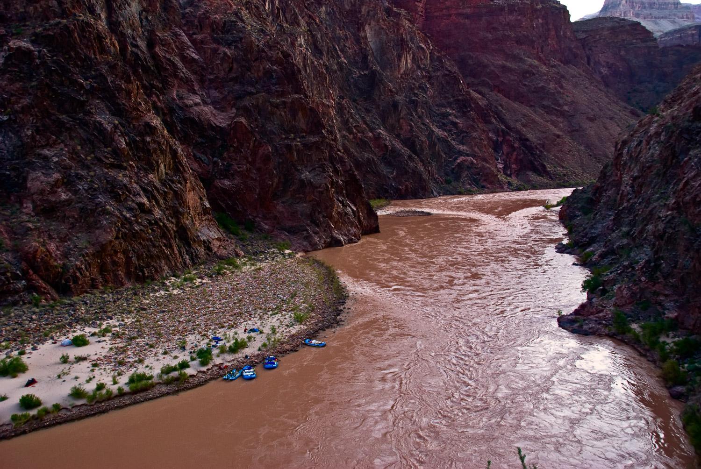River Trail at Dawn, Grand Canyon | Mark Lindsay