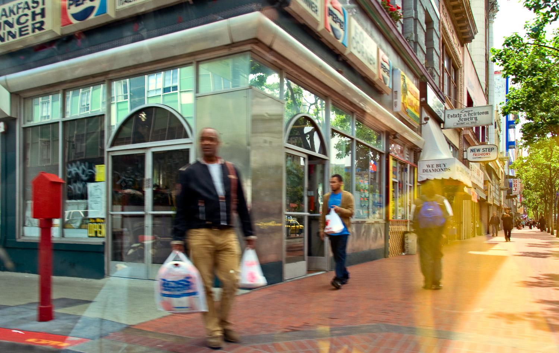 Convergence on Market Street, San Francisco | Mark Lindsay