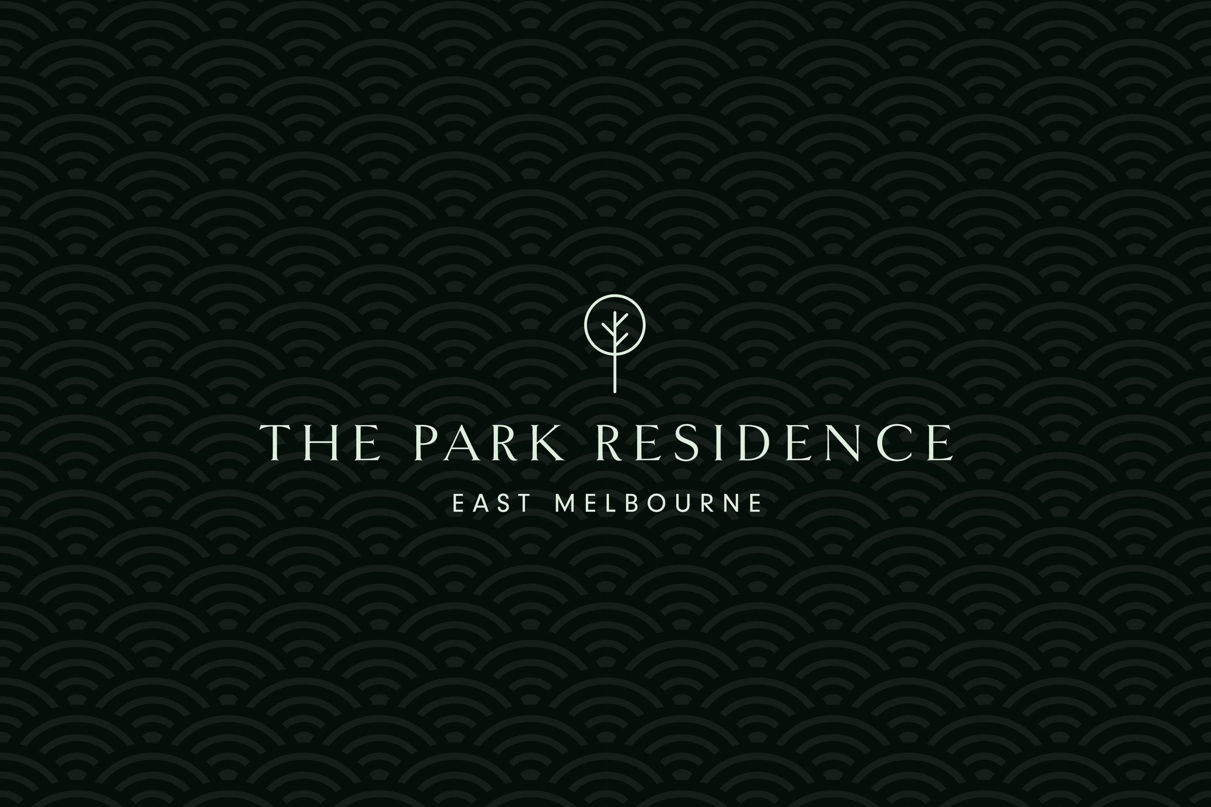 The Park Residence  Brand identity