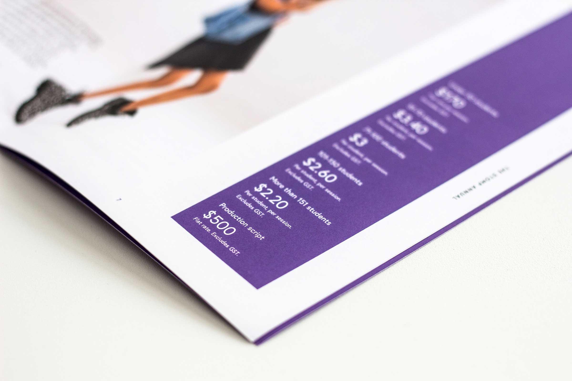 Stomp Dance Company  Brand identity, editorial design